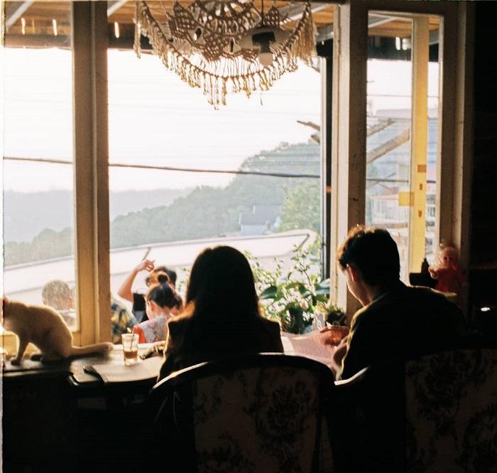 quán cafe cho cặp đôi ở Đà Lạt - Ba Quả Đồi mộng mơ