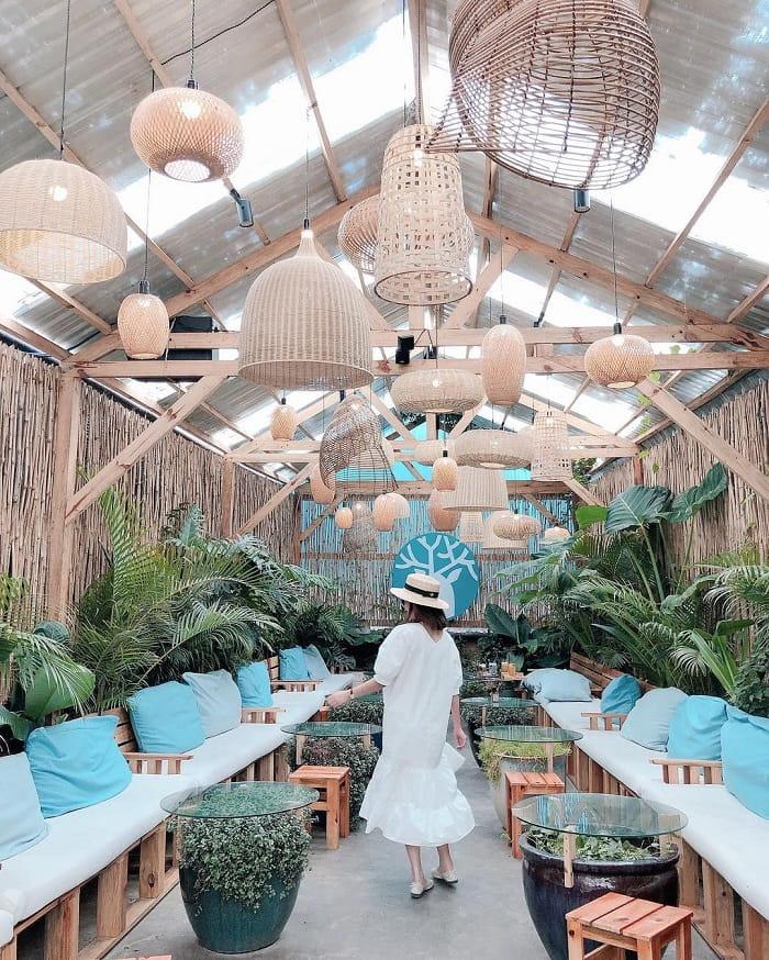 quán cafe cho cặp đôi ở Đà Lạt - check in Blue Coffee Tea