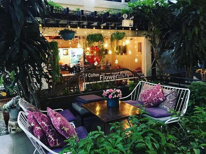 quán cafe cho cặp đôi ở Đà Lạt - F Coffee bình yên