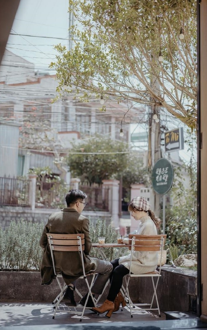 quán cafe cho cặp đôi ở Đà Lạt - Ami cafe bình yên
