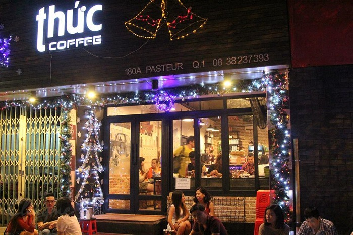 Những quán cafe đêm ở Sài Gòn - Thức coffee không gian đẹp
