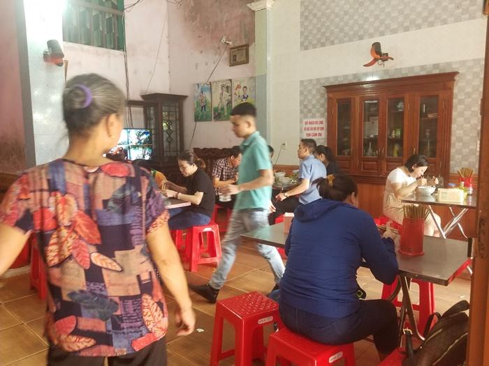 Quán Bảy là quán canh cá ngon ở Thái Bình nổi tiếng