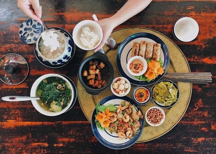 quán ăn món Bắc ở Sài Gòn - quán Ngõ 89 thực đơn
