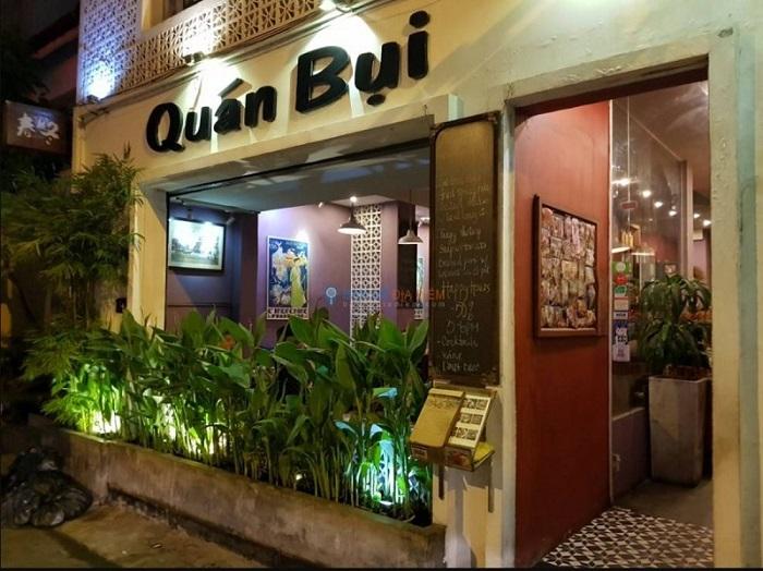 quán ăn món Bắc ở Sài Gòn - quán Bụi