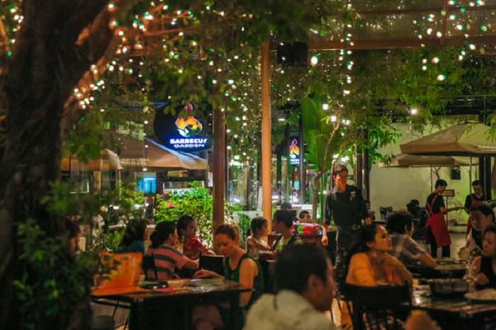 quán nướng ngon ở Sài Gòn - Nhà hàng nướng Barbecue Garden