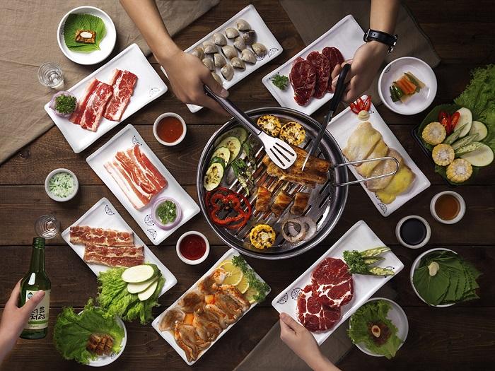 quán nướng ngon ở Sài Gòn - Pachi Pachi thực đơn