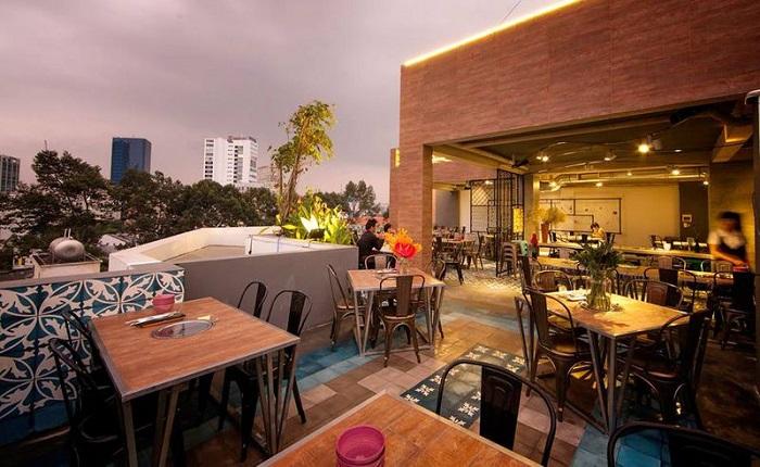 quán nướng ngon ở Sài Gòn - Rơm BBQ & Party