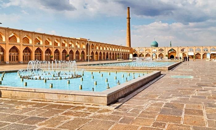 Quảng trường Naqsh-e Jahan dài 560m - Trải nghiệm trên Con đường Tơ lụa