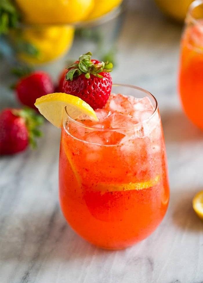 Soda là một trong những loại đồ uống giải nhiệt mùa hè ở Hà Nội
