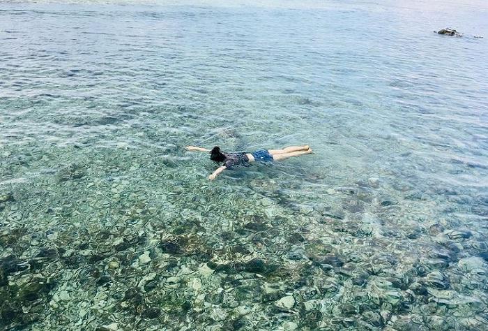 swimming - interesting activities at Cau Cave