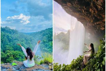 Trekking thác Hang Én khám phá vẻ đẹp của 'chốn bồng lai' giữa núi rừng Kon Chư Răng