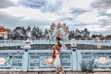 Hẹn nhau viếng chùa Huỳnh Đạo An Giang tuyệt đẹp trên núi Sam