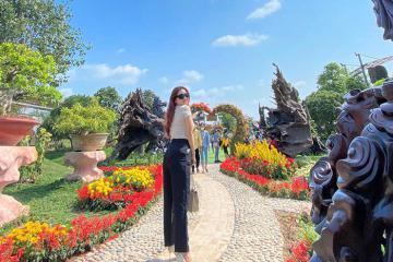 Khám phá khu du lịch Mỹ Luông - điểm đến mới toanh ở An Giang