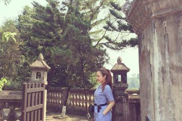 Viếng điện Hòn Chén Huế linh thiêng bên bờ Hương giang