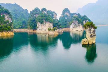 Cọc Vài Phạ - chốn tiên cảnh giữa non nước Tuyên Quang