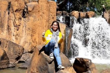 Đẹp hút hồn cảnh sắc thiên nhiên thác Đứng Bình Phước