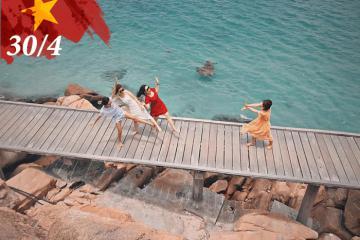 'Nghỉ thảnh thơi – chơi thỏa thích' với chùm tour lễ 30/4 từ Sài Gòn giá tốt