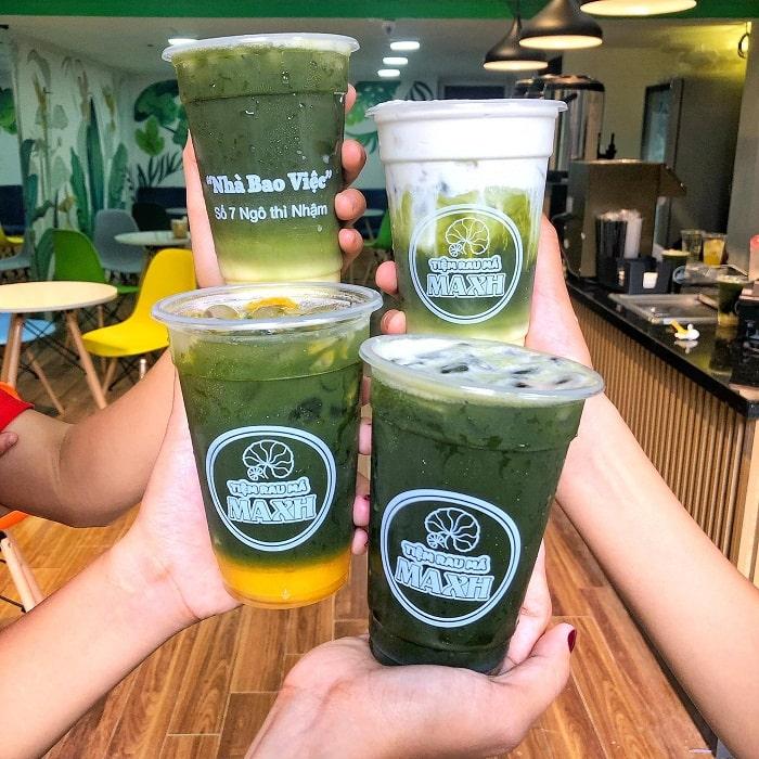 Nước rau má - đồ uống giải nhiệt mùa hè ở Hà Nội