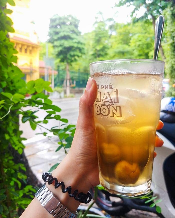 Nước sấu - đồ uống giải nhiệt mùa hè ở Hà Nội