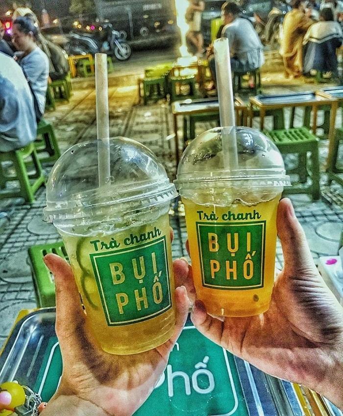 Trà chanh - đồ uống giải nhiệt mùa hè ở Hà Nội
