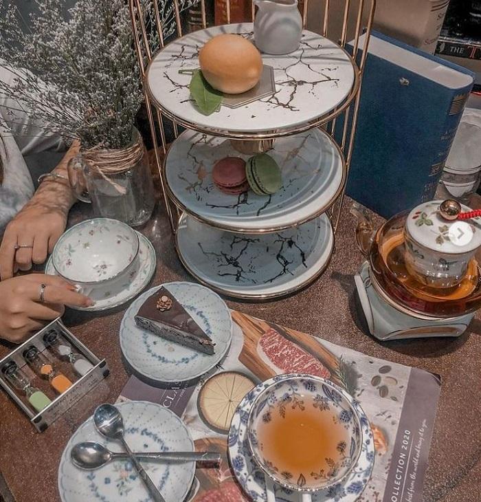 tiệm trà chiều cho nàng hẹn hò ngày 8/3  diewmimi-baker