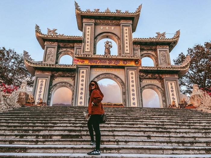 tour du lịch miền Trung 4N giá tốt - check in chùa Linh Ứng