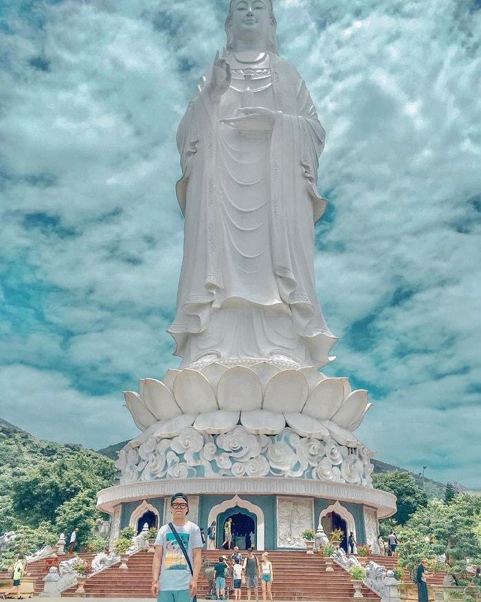 tour du lịch miền Trung 4N giá tốt - check in tượng Phật Bà Quan Âm