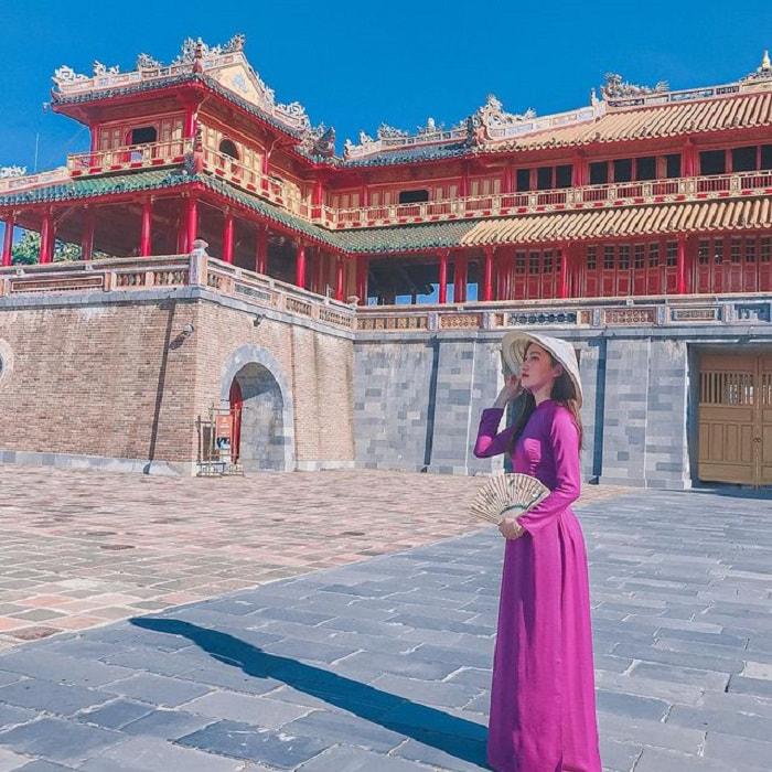 tour du lịch miền Trung 4N giá tốt - check in Đại Nội Huế