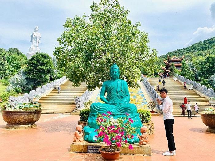 tour Phú Quốc 3N2Đ từ Sài Gòn - viếng chùa Hộ Quốc