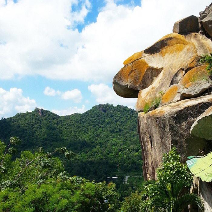 Khám phá vùng Bảy Núi An Giang - Trên núi Ông Két