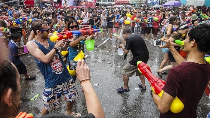 lễ hội songkran Thái Lan