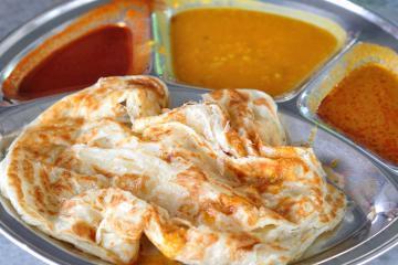 Khám phá món bánh roti Malaysia nổi tiếng thế giới