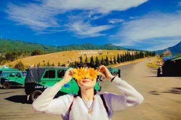 Du lịch Đà Lạt, lang thang núi LangBiang