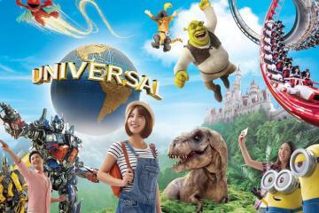 Hướng dẫn đi chơi ở Universal Singapore: Giá vé, vui chơi, ăn uống