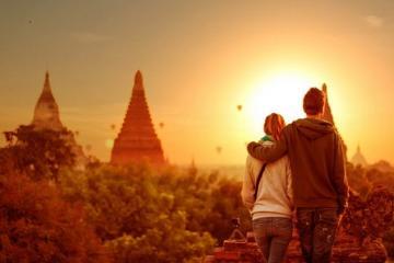Bagan - Những ngôi đền, bình minh & khinh khí cầu