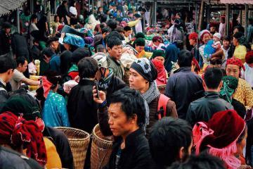Các phiên chợ nổi tiếng ở Hà Giang sôi nổi, náo nhiệt