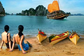 Vi vu Hạ Long, đừng bỏ lỡ khu du lịch đảo Ti Tốp