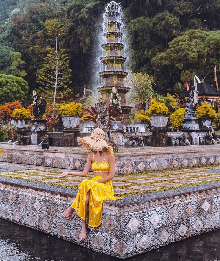 Bewitched by the magical beauty of Tirta Gangga Bali water palace