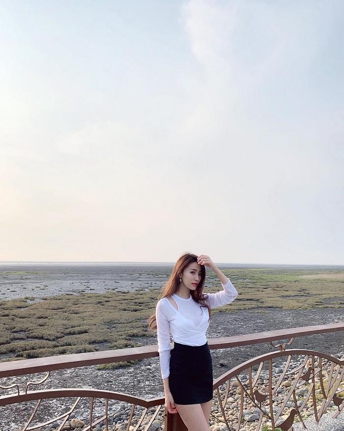 Đắm chìm trong cảnh hoàng hôn ở đầm lầy Cao Mỹ Đài Loan