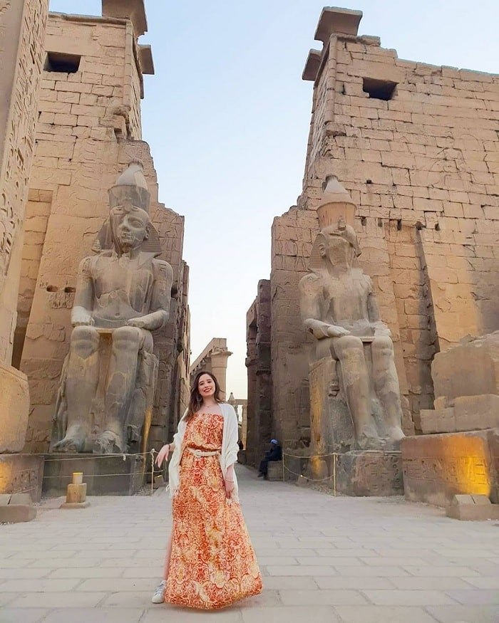 Marvel at the splendor of the Egyptian Luxor temple