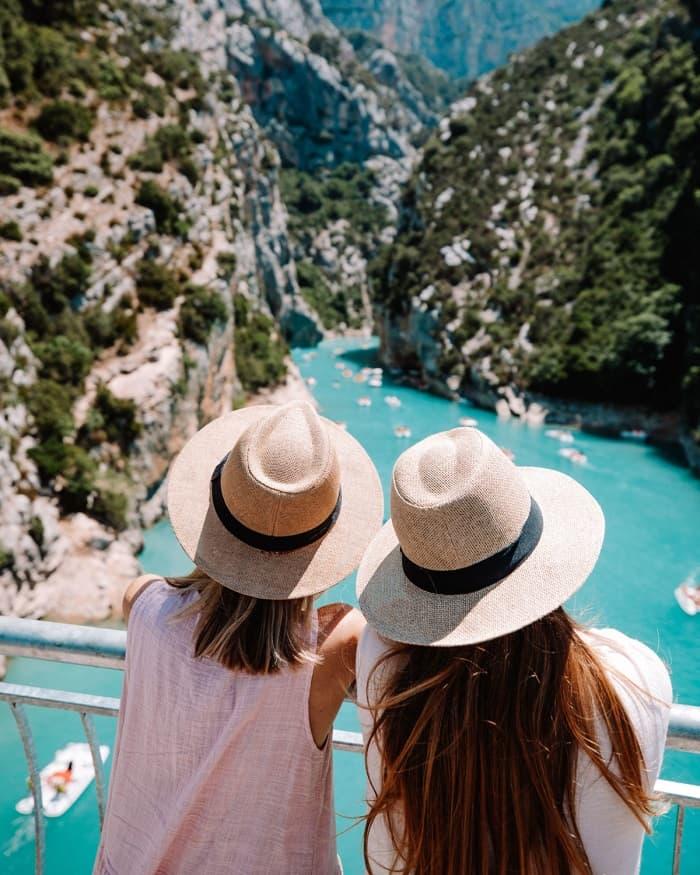 Verdon Gorge - a blue 'Grand Canyon' of France