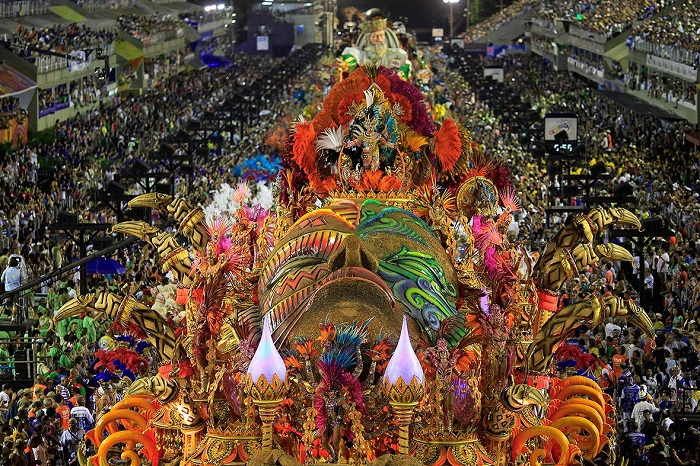 Điểm danh những lễ hội truyền thống ở Brazil đặc sắc nhất