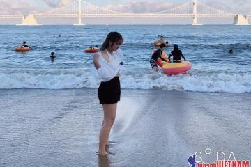 Khám phá bãi biển Gwangalli Busan – bãi biển lãng mạn nhất Hàn Quốc