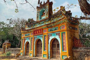 Thăm chùa Thủ Lễ Huế tìm về dấu xưa làng cổ đất Cố đô