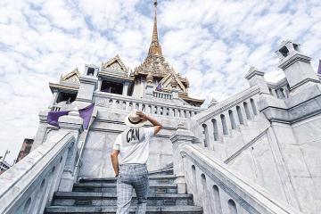 Chùa Phật Vàng - ngôi chùa linh thiêng bậc nhất Thái Lan