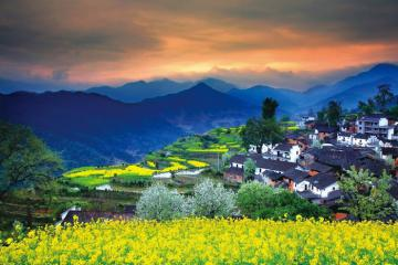 Làng cổ Vụ Nguyên chốn 'thôn quê đẹp nhất Trung Quốc'