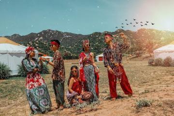 TANYOLI - Vẻ đẹp độc đáocủa làng Mông Cổ Ninh Thuận