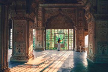 Đến du lịch Ấn Độ đừng bỏ lỡ pháo đài Red Fort nổi tiếng