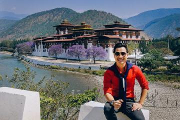 Du lịch Bhutan ghé thăm pháo đài Punakha Dzong nổi tiếng