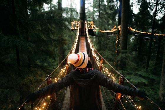 Cầu treo Capilano - cây cầu treo dài nhất thế giới ở Canada